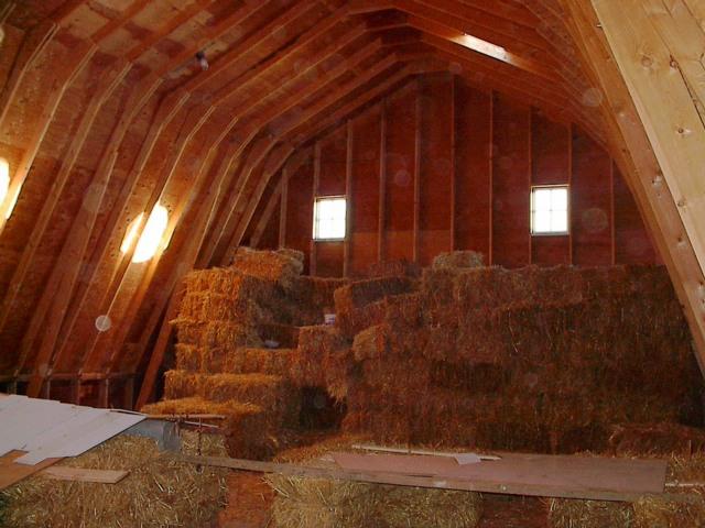 SHF barn interior
